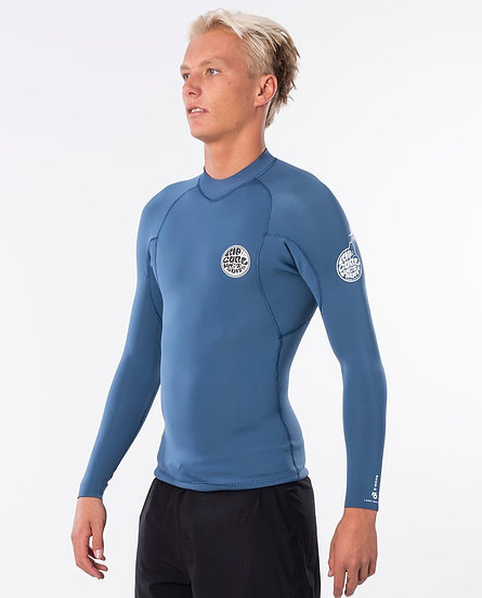 RIP CURL EBOMB 1.5MM LONG SLEEVE FRONT ZIP SURF JACKET