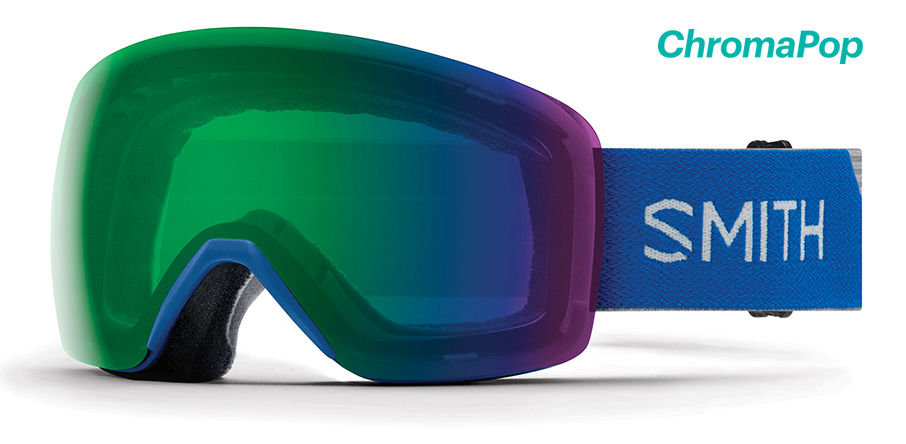 SMITH OPTICS SKYLINE SKI AND SNOWBOARD GOGGLES