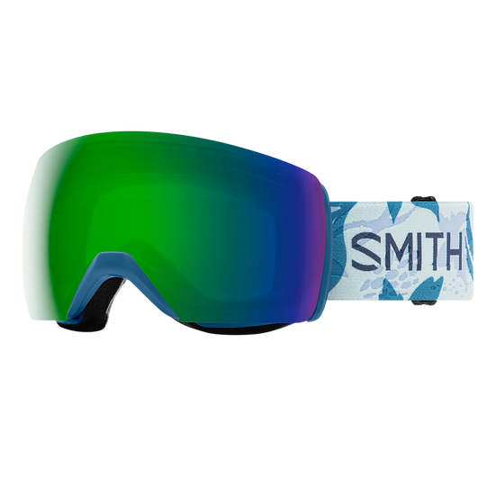 SMITH OPTICS SKYLINE XL ASIA FIT CHROMAPOP SKI AND SNOWBOARD GOGGLES