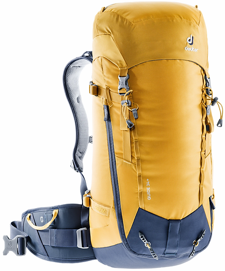 DEUTER GUIDE 34 + CLIMBING, SKI TOURING AND MOUNTAINEERING BACKPACK