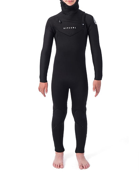 RIP CURL JUNIOR DAWN PATROL 5/4 HOODED WETSUIT