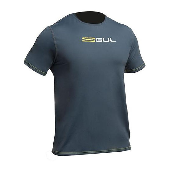 GUL MEN'S SHORT SLEEVE TEE FIT SURFING RASHGUARD