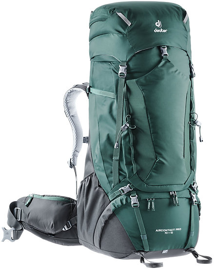 DEUTER AIRCONTACT PRO 70 + 15  BACKPACKING AND MOUNTAINEERING