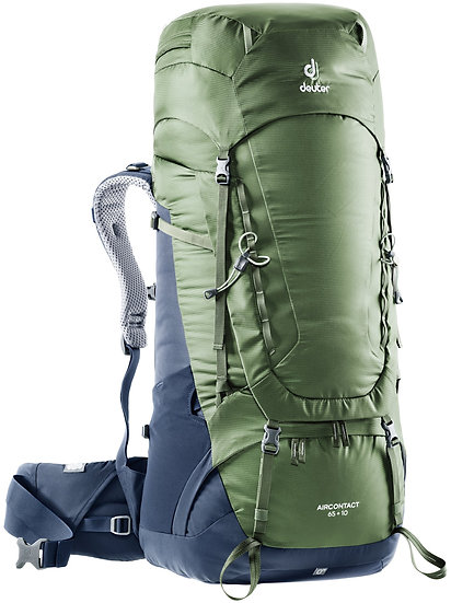 DEUTER AIRCONTACT 65 + 10 TREKKING BACKCOUNTRY BACKPACK