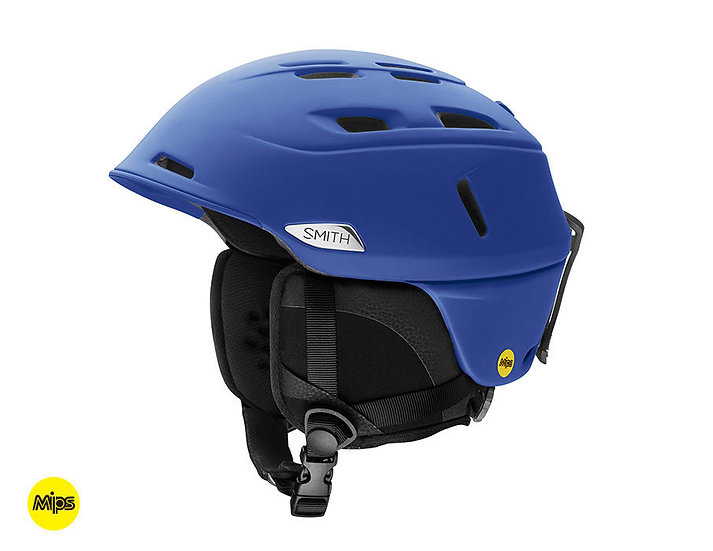 SMITH MEN'S CAMBER MIPS SKI AND SNOWBOARD HELMET