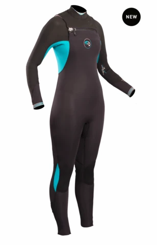 GUL FLEXOR 3/2MM CHEST ZIP BS LADIES WETSUIT