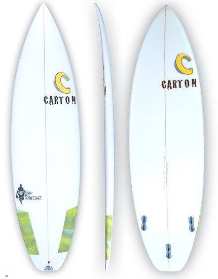 CARTON SURFBOARDS: FORECAST HIGH PERFORMANCE