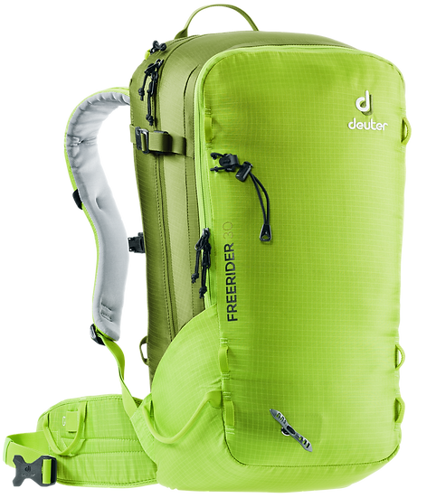 DEUTER FREE RIDER 30 ALPINE SKIING AND SNOWBOARDING BACKPACK