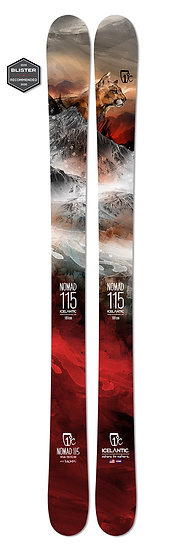 2020 ICELANTIC NOMAD 115 FREERIDE  SKIS