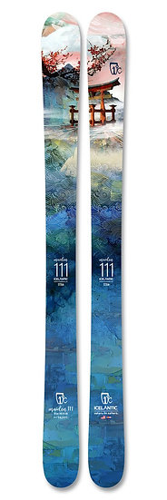 2021 ICELANTIC MAIDEN 111 WOMEN FREERIDE SKIS