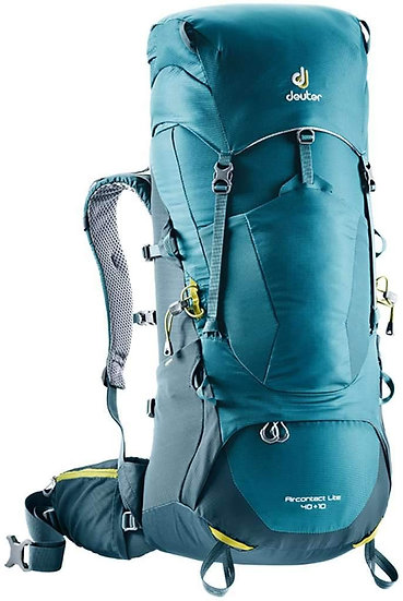 DEUTER AIRCONTACT LITE 40 + 10 TREKKING AND MOUNTAINEERING BACKPACK