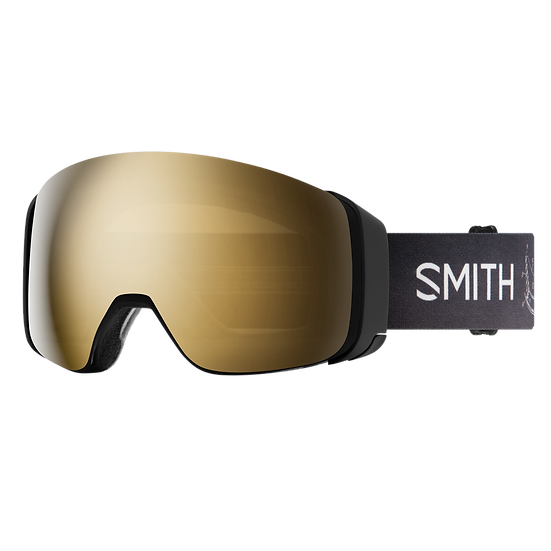 SMITH OPTICS 4D MAG CHROMAPOP SKI AND SNOWBOARD GOGGLES