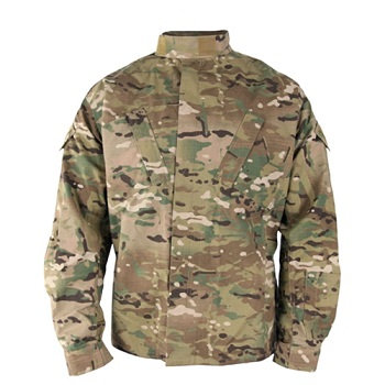 PROPPER ACU BATTLE RIP MULTICAM CAMO JACKET