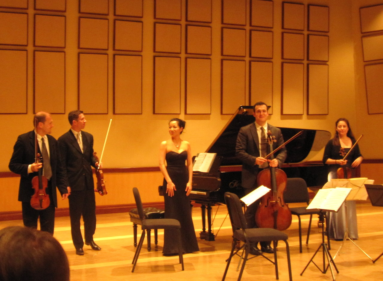 with the Penderecki String Quartet