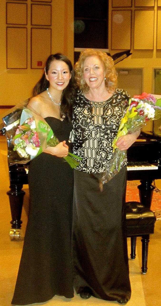 Performing with Carol Neblett, RIP