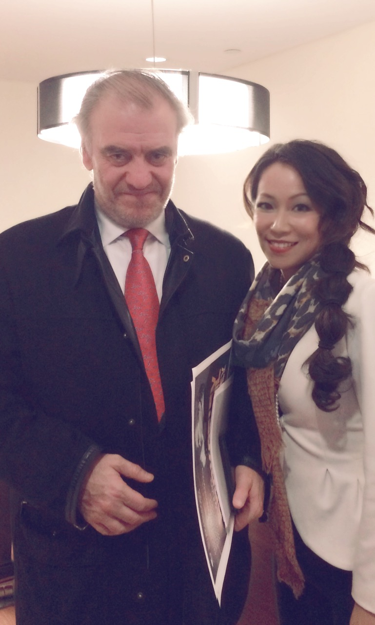 performing with Valery Gergiev