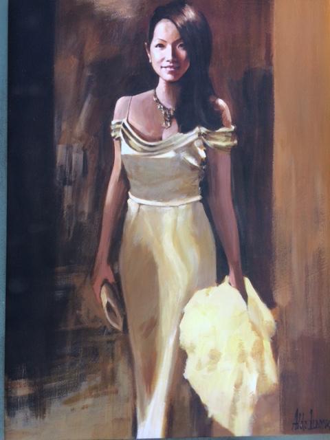 Argentenian painter, Aldo Luongo