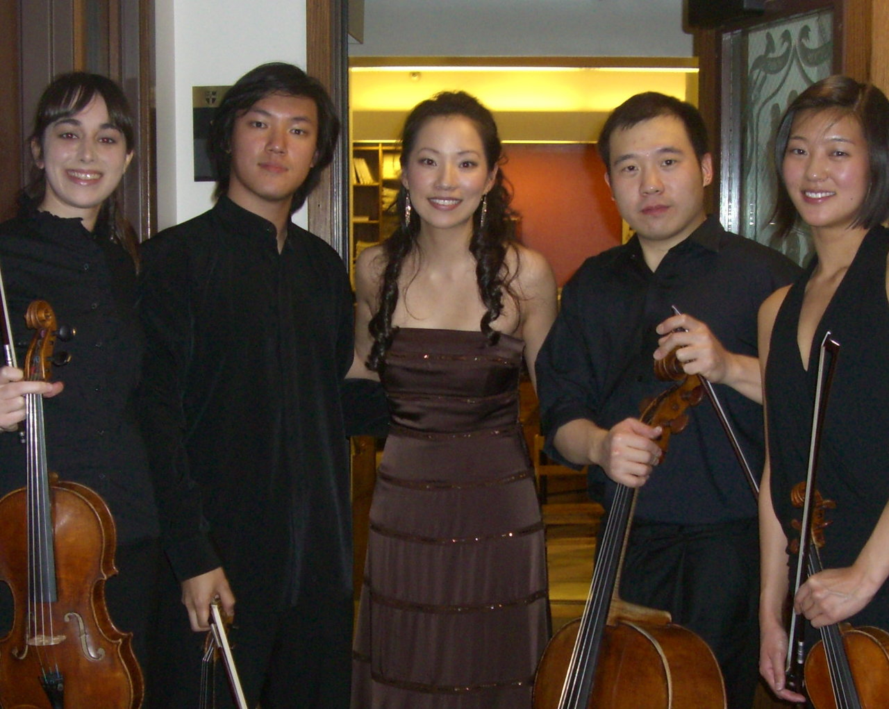 Grammy-winning Parker Quartet