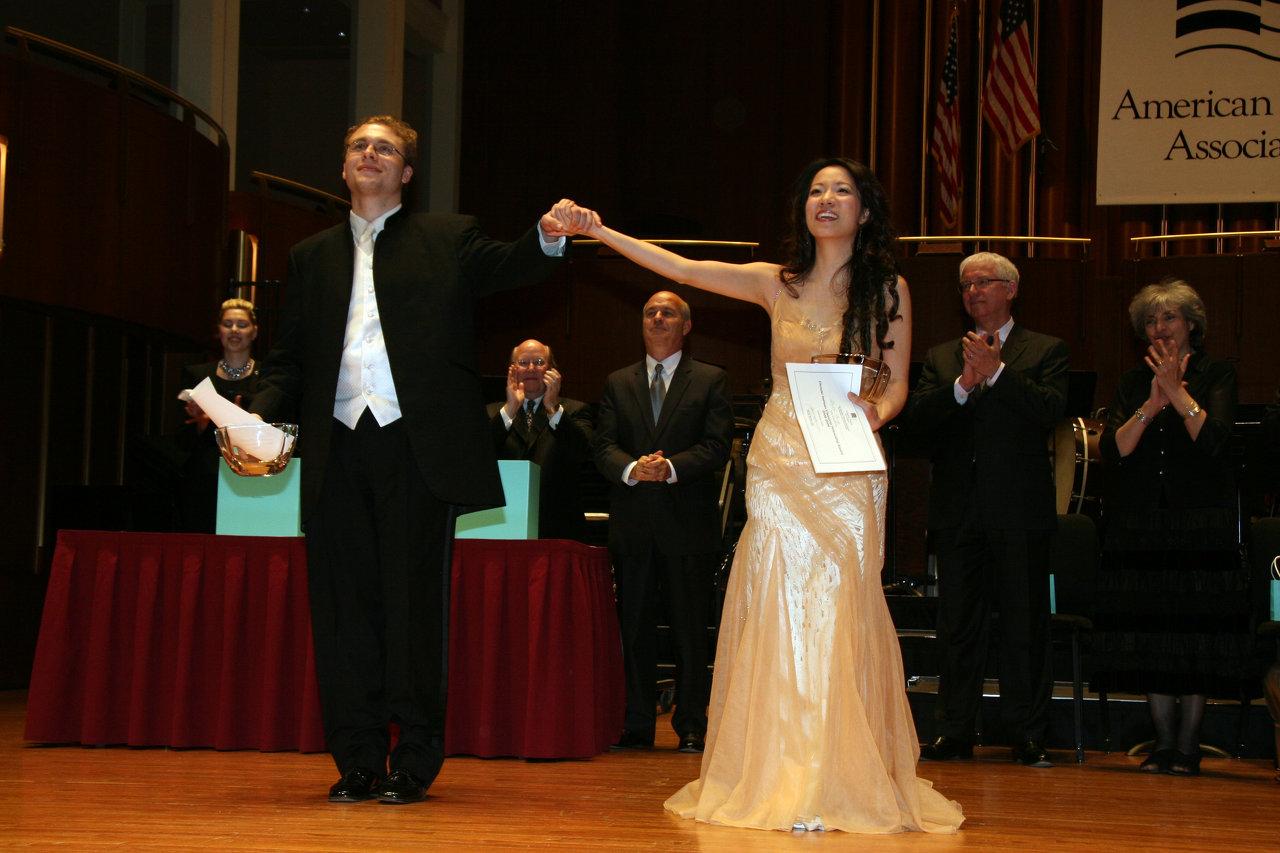 Winner of American Pianists Assoc.
