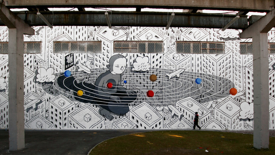 Da una piccola bozza ai muri delle città: lo street artist Millo si racconta