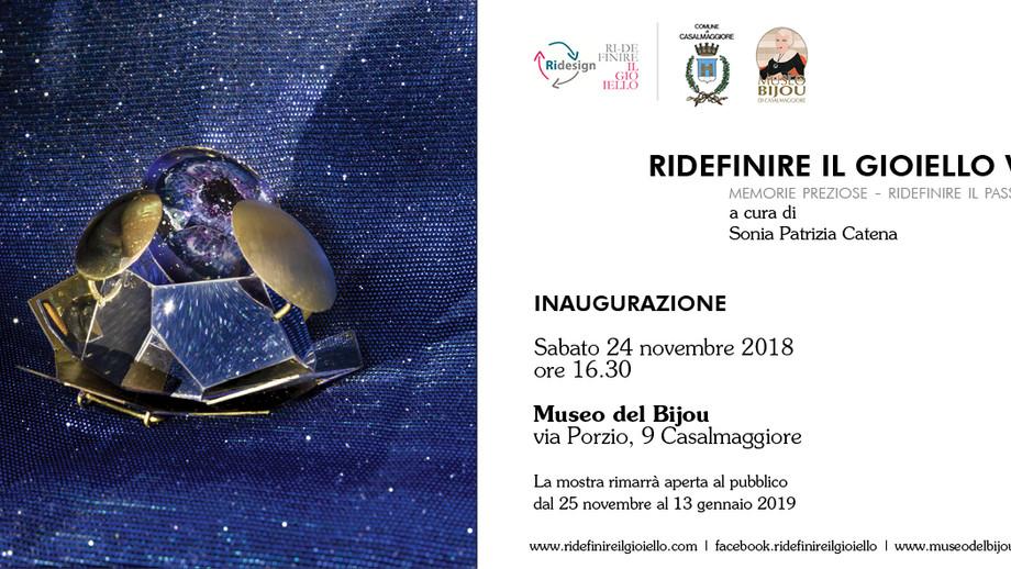 Ridefinire il Gioiello al Museo del Bijou di Casalmaggiore / Ridefinire il Gioiello at the Museo del