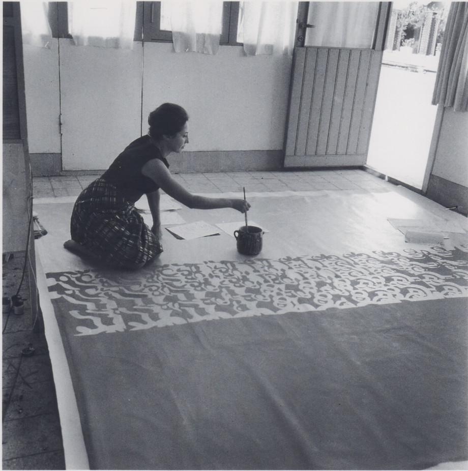 Il tempo astratto di Carla Accardi in mostra a Milano