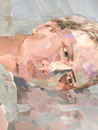 """Twenty14 Contemporary presenta """"Abglanz"""" la prima mostra in Italia di Alina Maria Frieske"""