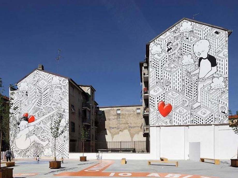 Street Art: la sintassi riflessiva del tessuto urbano