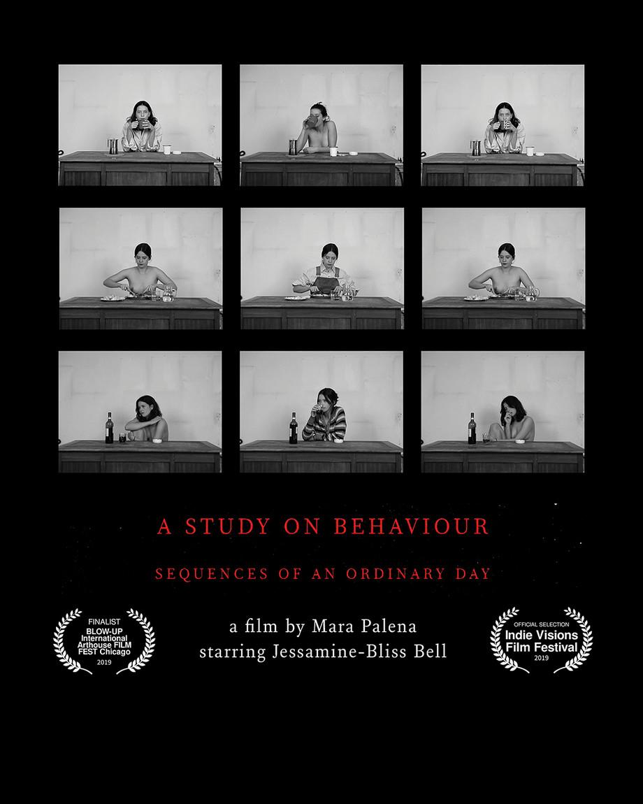 """""""A Study On Behaviour"""" è un progetto firmato Mara Palena e interpretato da Jessamine-Bliss"""
