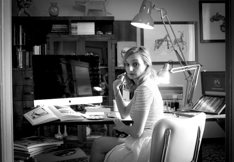 "Lucia Emanuela Curzi: ""Vi racconto l'illustrazione di moda contemporanea"" / Lucia Emanuela Curzi: &q"