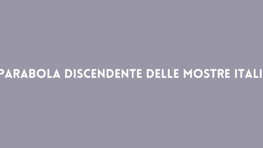 Se Caravaggio fa cassetto: sulla parabola discendente delle mostre italiane / If Caravaggio is synon