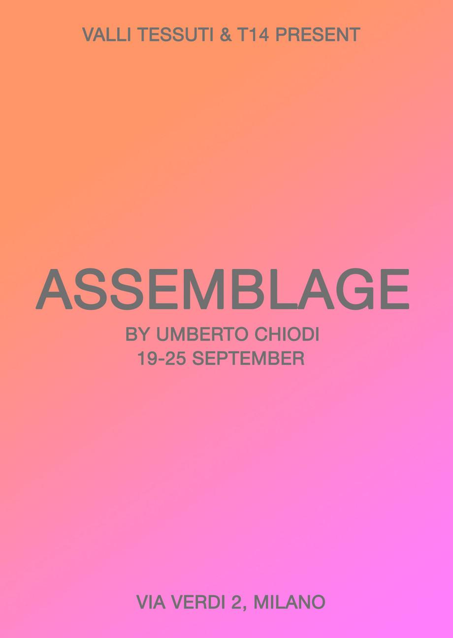 Valli tessuti presenta assemblage di Umberto Chiodi: la MFW tra moda e arte / Valli tessuti presents