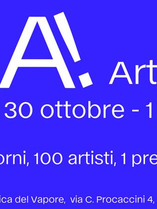 La prima edizione di ReA! Art Fair alla Fabbrica del Vapore di Milano