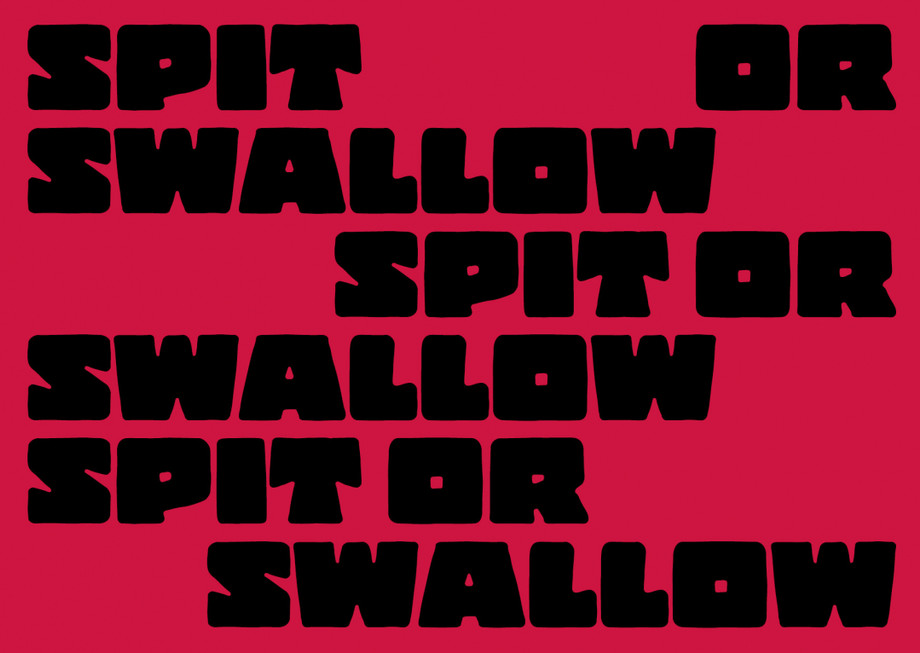 UNA inaugura la mostra SPIT or SWALLOW / UNA inaugurates the SPIT or SWALLOW exhibition