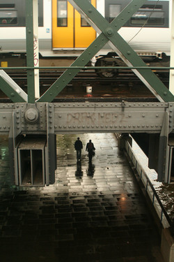 Under the btidge, London 2008