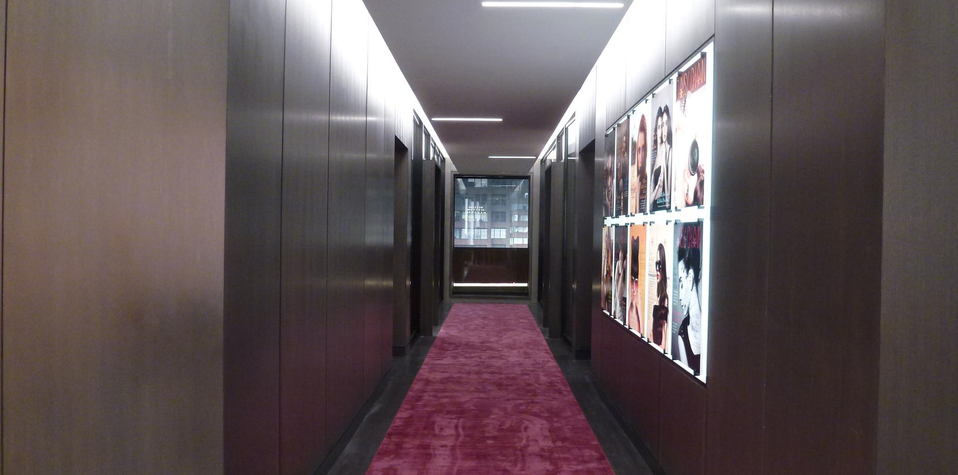 Hallway of Magazine Office