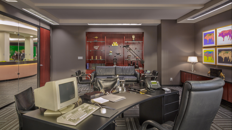 BERNIE'S OFFICE