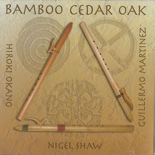 Bamboo Cedar Oak self-titled CD