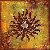 Sun wheel artwork