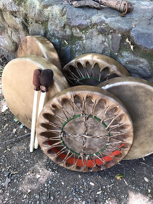 Hand Drums Bison 14""
