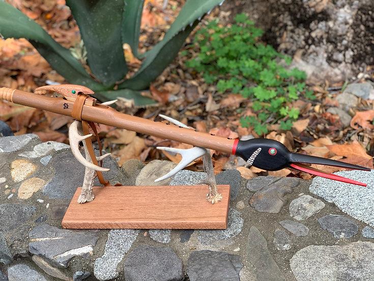 Tototl Hand carved Bird Head Flute