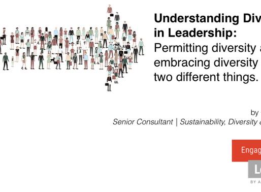 Understanding Diversity in Leadership