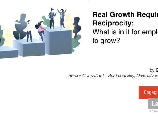 Real Growth Requires Reciprocity