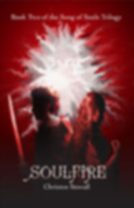 Soulfire Cover, Front