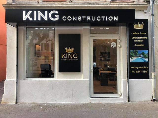 Agence king construction à St maximin la sainte baume