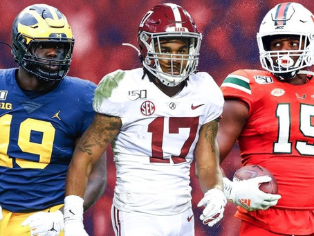 'Tis The (Mock Draft) Season: 5 Early Possible Choices for the Patriots at Pick 15