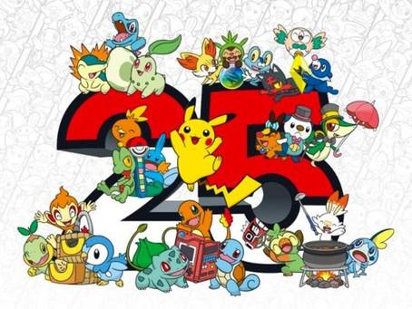 25th Anniversary of Pokémon Hype