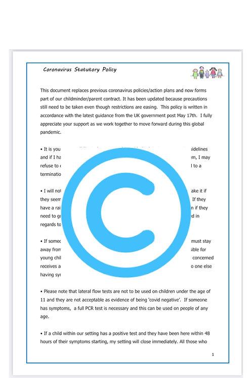 Coronavirus Policy