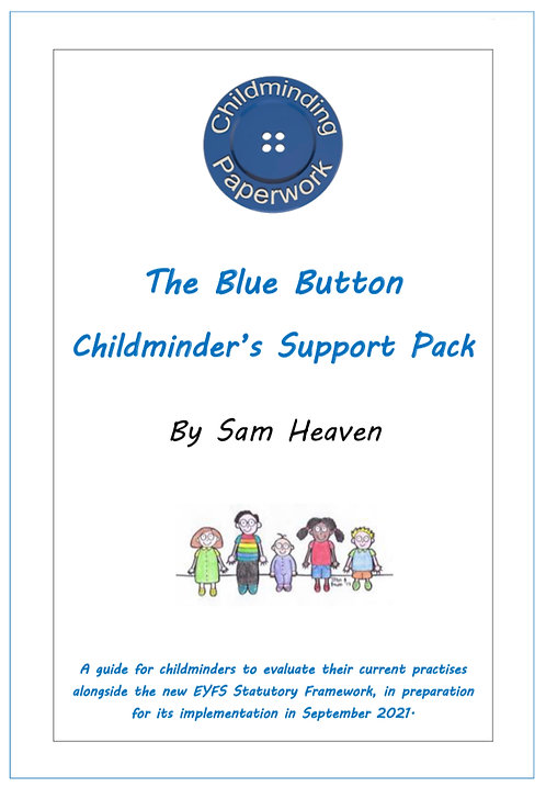 The Blue Button Childminder Support Pack
