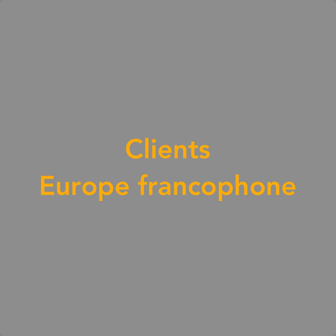 Clients Europe francophone